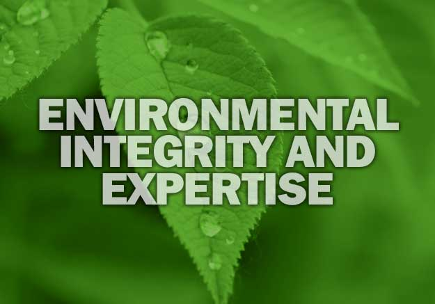 ENVIRONMENTAL INTEGRITY AND EXPERTISE