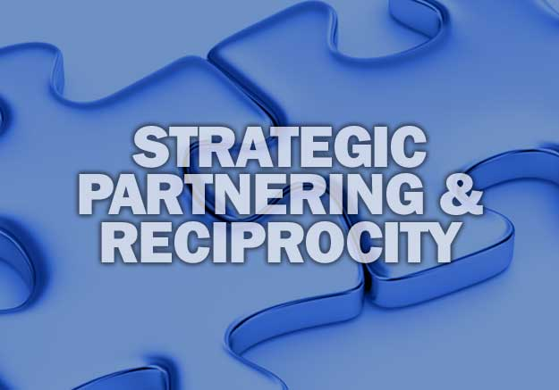 STRATEGIC PARTNERING AND RECIPROCITY